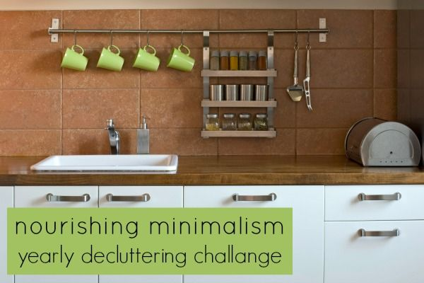 Yearly Decluttering Challenge Declutter Kitchen Pictures