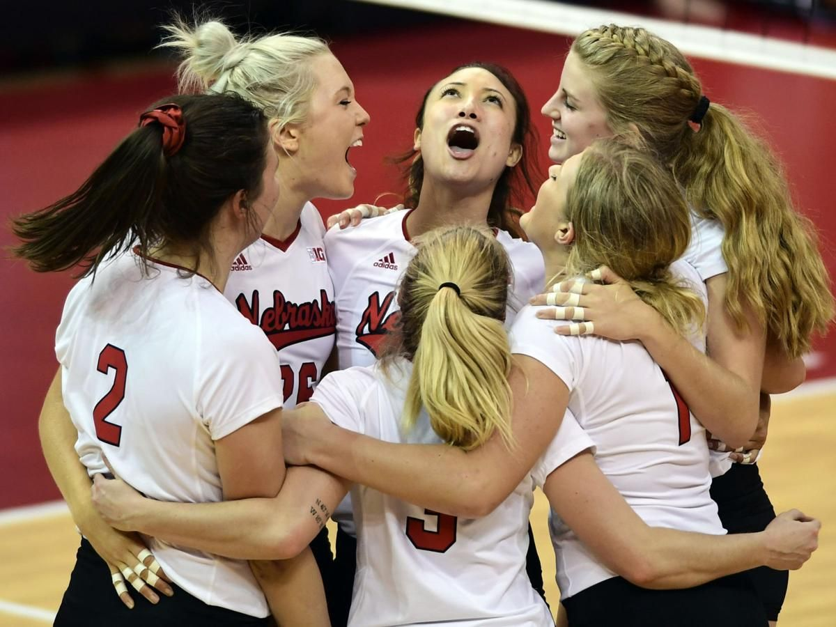 From Day 1 To Now A List Of Some Of The Most Memorable Moments Of The Nebraska Volleyball Season Volleyball Pictures Nebraska Nebraska Cornhuskers Football