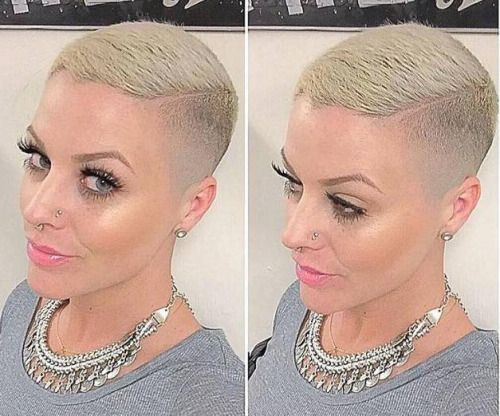 Pin By Womens Short Hair Styles On Short, Faded And