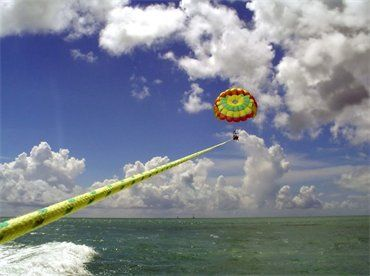 Parasailing. Bucket list item! I can only imagine what it ...