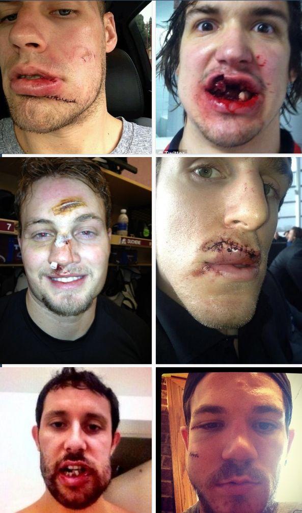 Hockey selfies