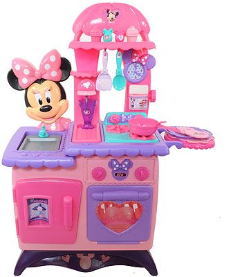 Minnie Mouse Bow-tique Flippin\' Fun Kitchen - Just Play - Toys \