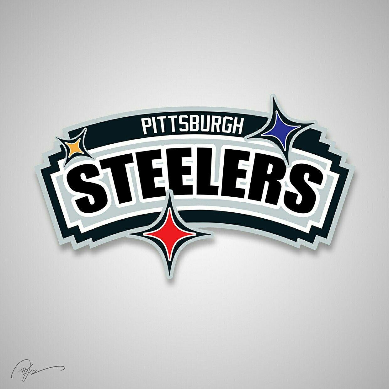 Pittsburgh Steelers X San Antonio Spurs Nfl logo, Nfl