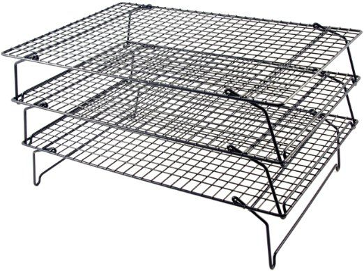 This One Tala Three Tier Non Stick Cake Cooling Rack Amazon Co Uk Kitchen Home Baking Accessories Tala Cooling Racks