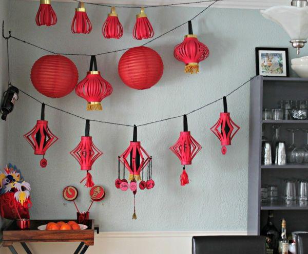 Modern Classroom Decorations ~ Lanterne chinoise en papier à fabriquer vous même objets