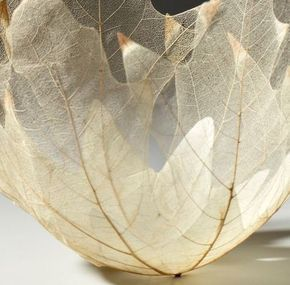 Esqueletização de folhas e Flores - Artesanato na Rede