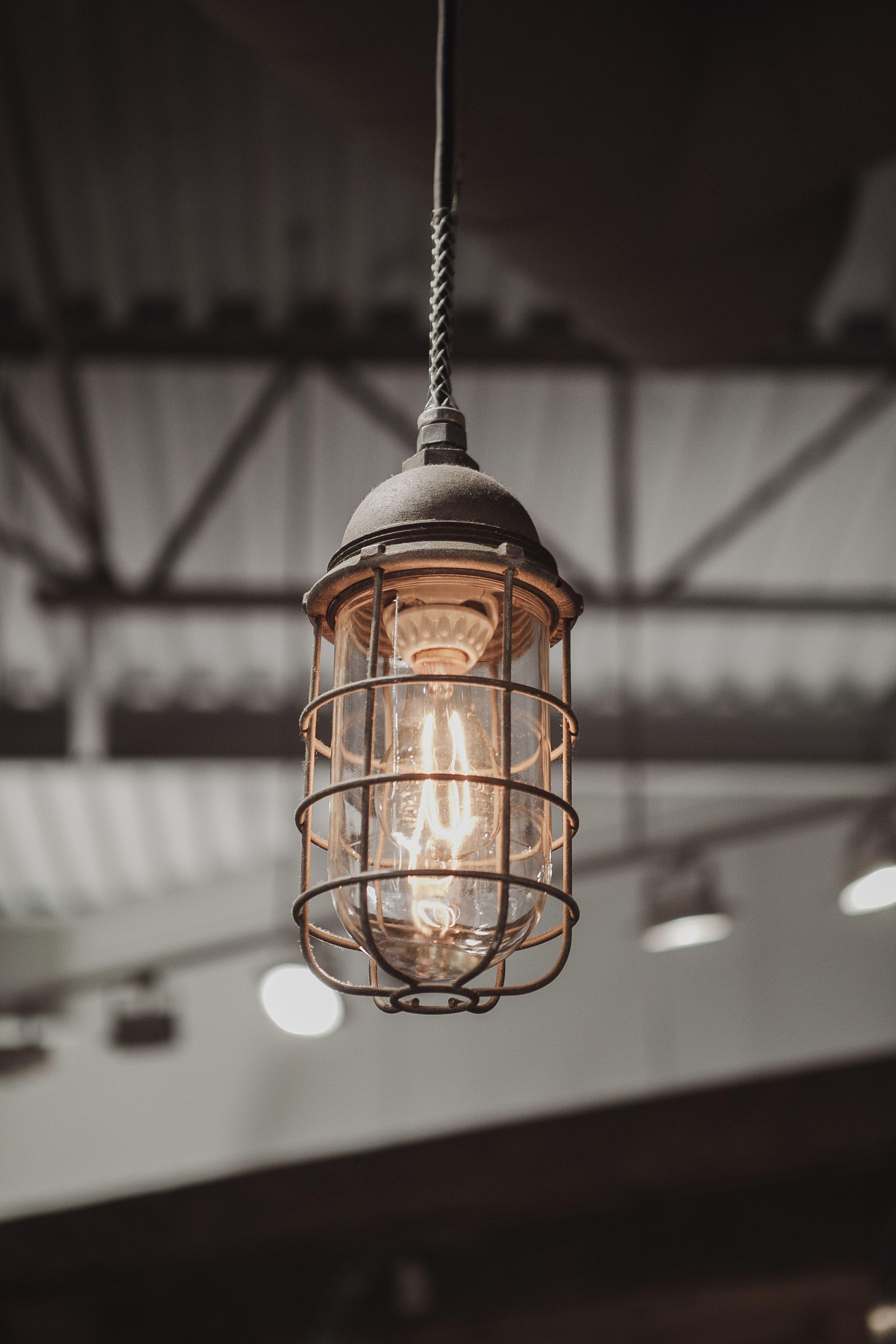 Explosion proof cage light • #interiors #menswear #shop #boutique #antique #scottandon #architecture #vintage #design