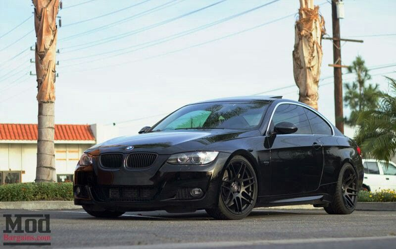 Bmw E92 M3 Black On Forgestar F14 Wheels Bmw Bmw Suv Best Mods
