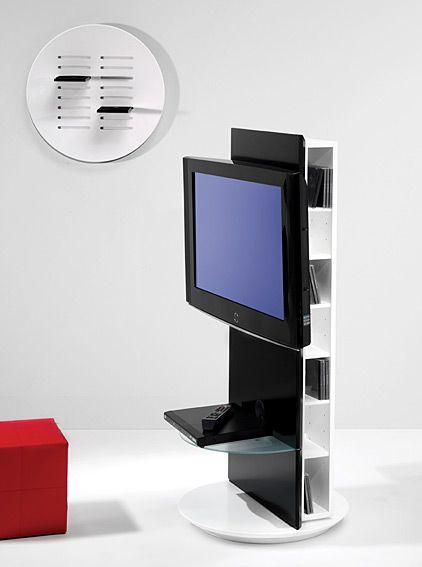 Mueble tv giratorio seidho en salon for Mueble soporte tv