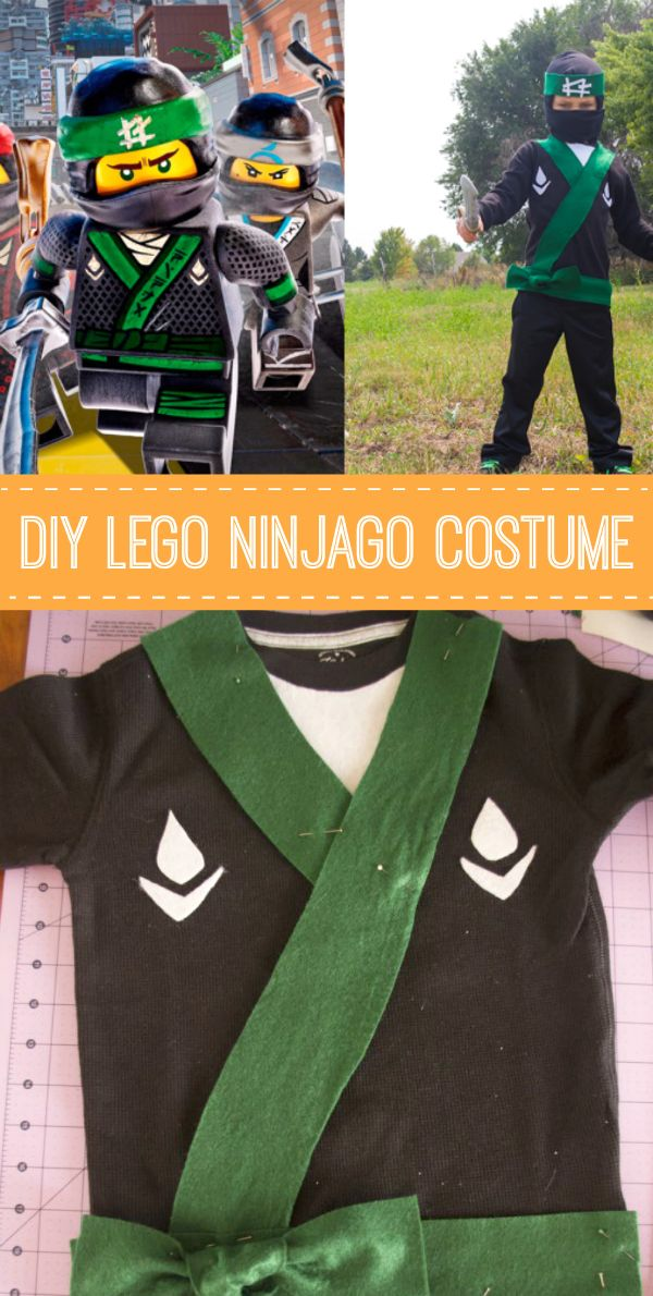 My 5 year old can t wait to see The LEGO NINJAGO Movie! It made our  Halloween costume choice this year an obvious one  he ll take one Green  Ninja costume!! 79f89352e3163