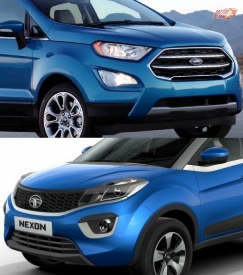 Ford Ecosport 2017 Vs Tata Nexon Comparison Ford Ecosport Tata Car