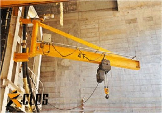 Cjx Series Wall Mounted Slewing Jib Crane Sales1 Clescrane Com Cranes For Sale Gantry Crane Crane