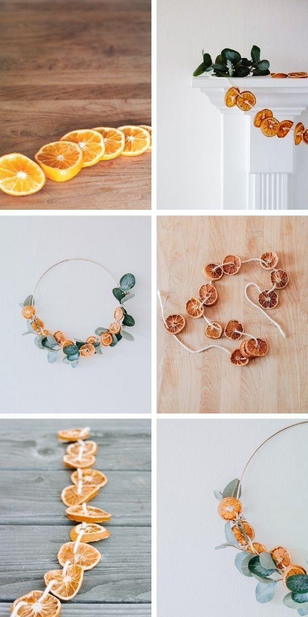 Photo of Elegante ghirlanda di arance essiccate fai da te – Elegante ghirlanda di arance essiccate fai da te …