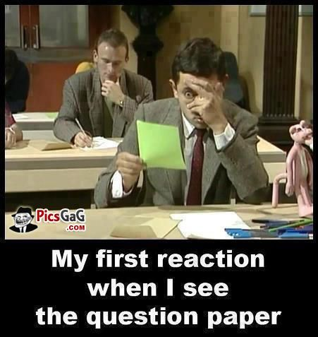 60 Hilarious Memes On Exams For Whatsapp Exams Funny Funny Memes Mr Bean Funny