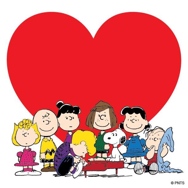 Happy Valentine S Day From The Peanuts Gang Valentine S Day