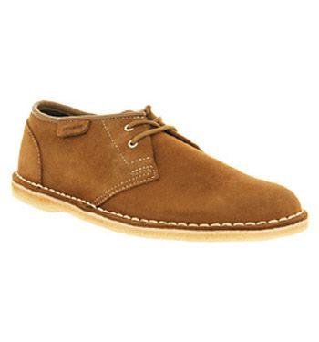 06657b61 Clarks Originals JINK LACE SHOE COLA SUEDE Shoes - Mens Casual Shoes ...