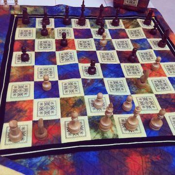 Tablero de ajedrez | Patchwork | Pinterest | Tableros de ajedrez ...