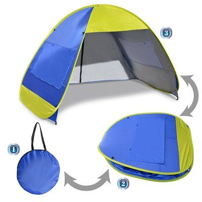SunriseOutdoorLTD Instant Pop Up Beach Tent Portable Canopy Sports Sun Shade Outdoor Hiking Travel C&ing Napping  sc 1 st  Pinterest & SunriseOutdoorLTD Instant Pop Up Beach Tent Portable Canopy Sports ...