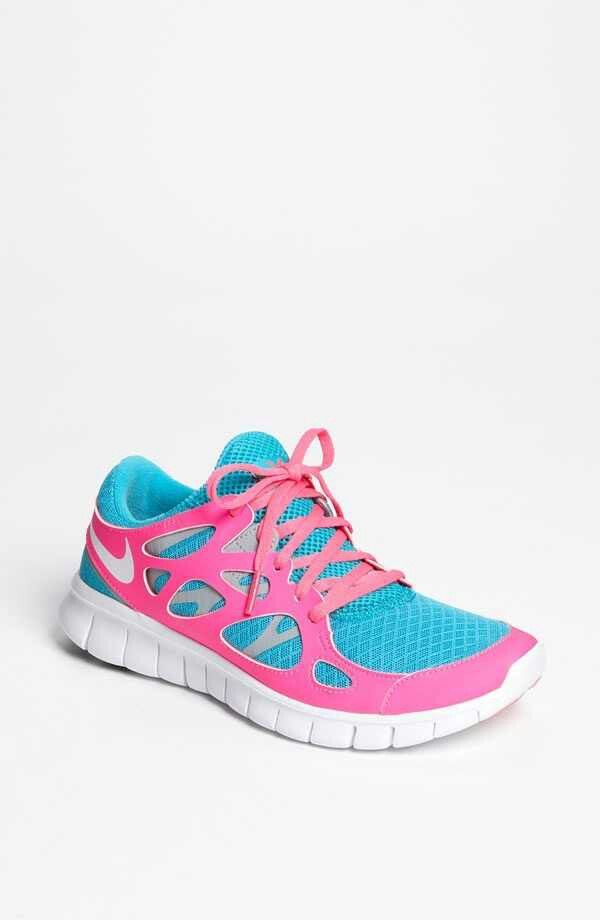 sale retailer 193f8 714e3 Pink baby blue nikes | Tennis shoes obsession in 2019 ...