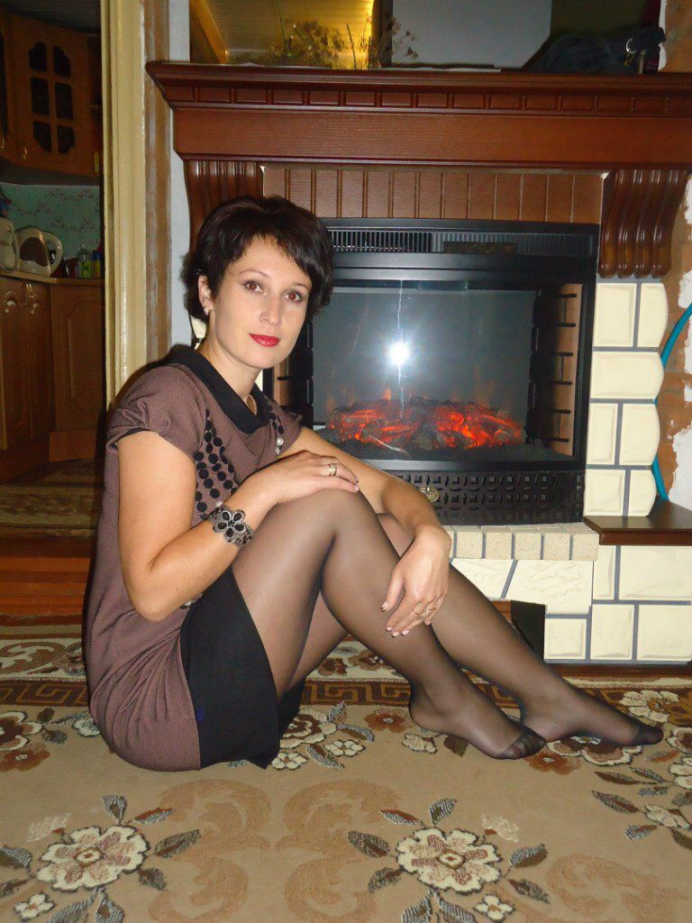 Nylon Wives Mature Pantyhose Galleries Black 116