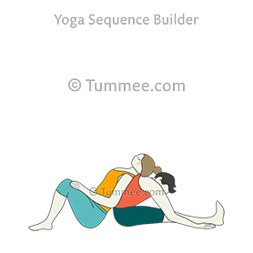 seated forward bend pose partner yoga paschimottanasana