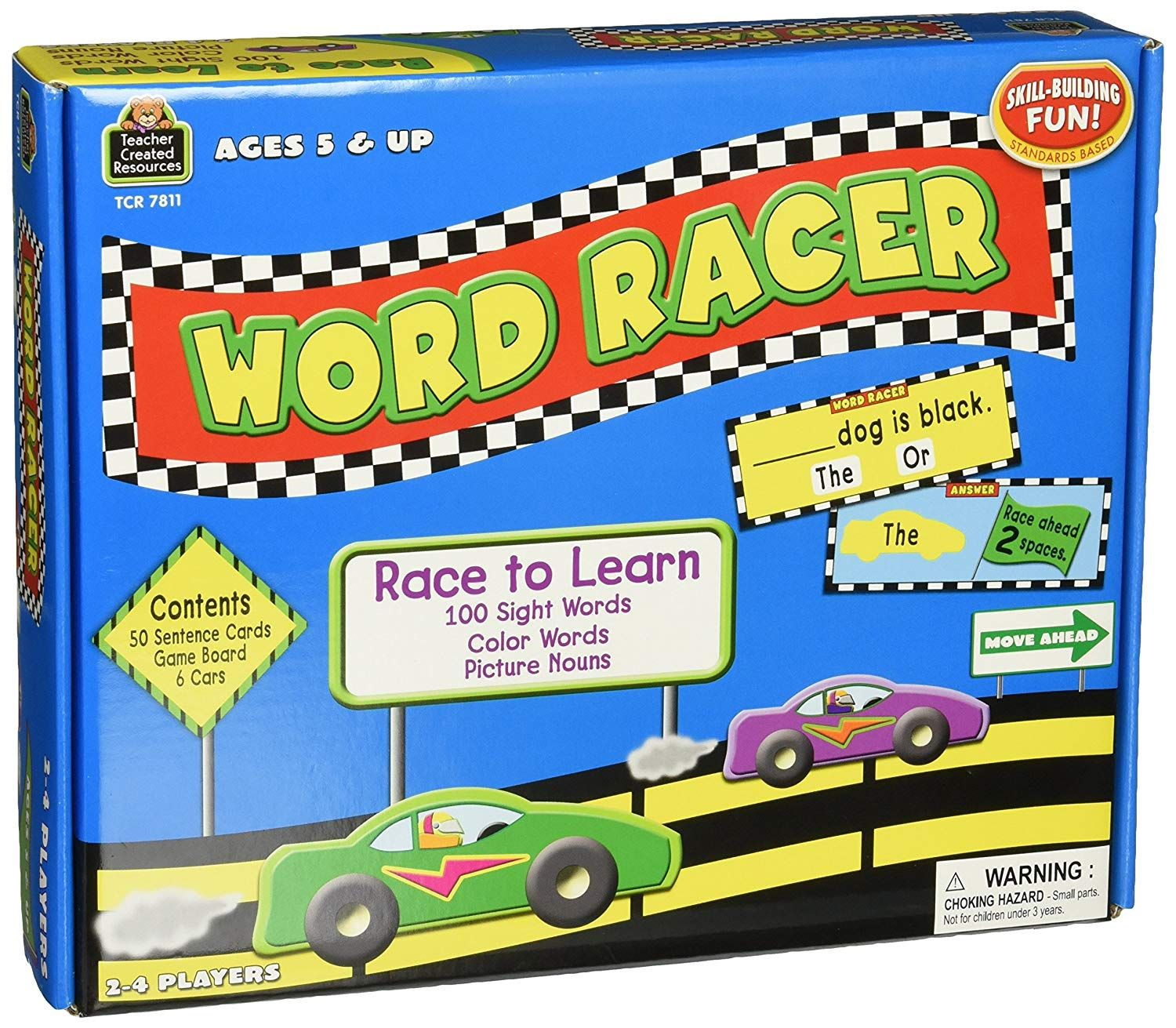 Teacher Created Resources Word Racer Game Learn