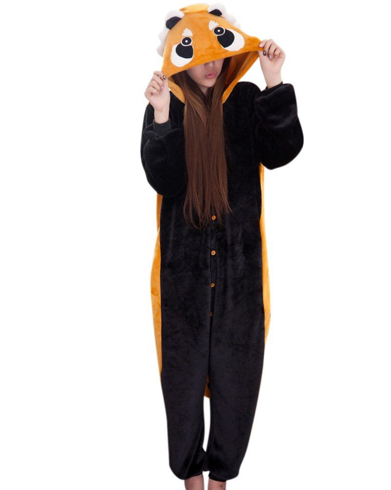 hemoon costume deguisement unisexe combinaison pyjama animal adultes polaire. Black Bedroom Furniture Sets. Home Design Ideas