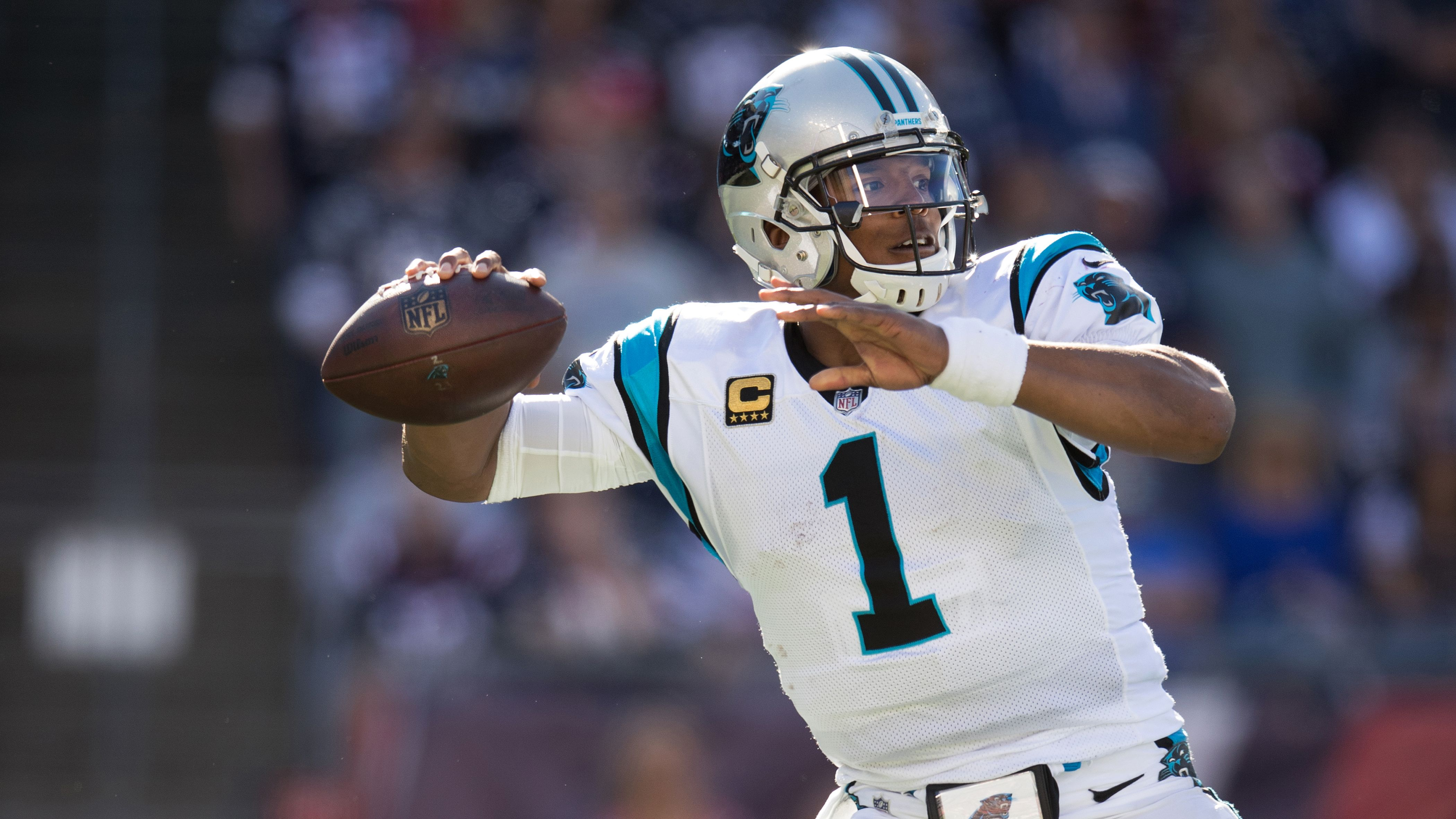 Image result for Cam Newton Tv channel, Game time, Panthers