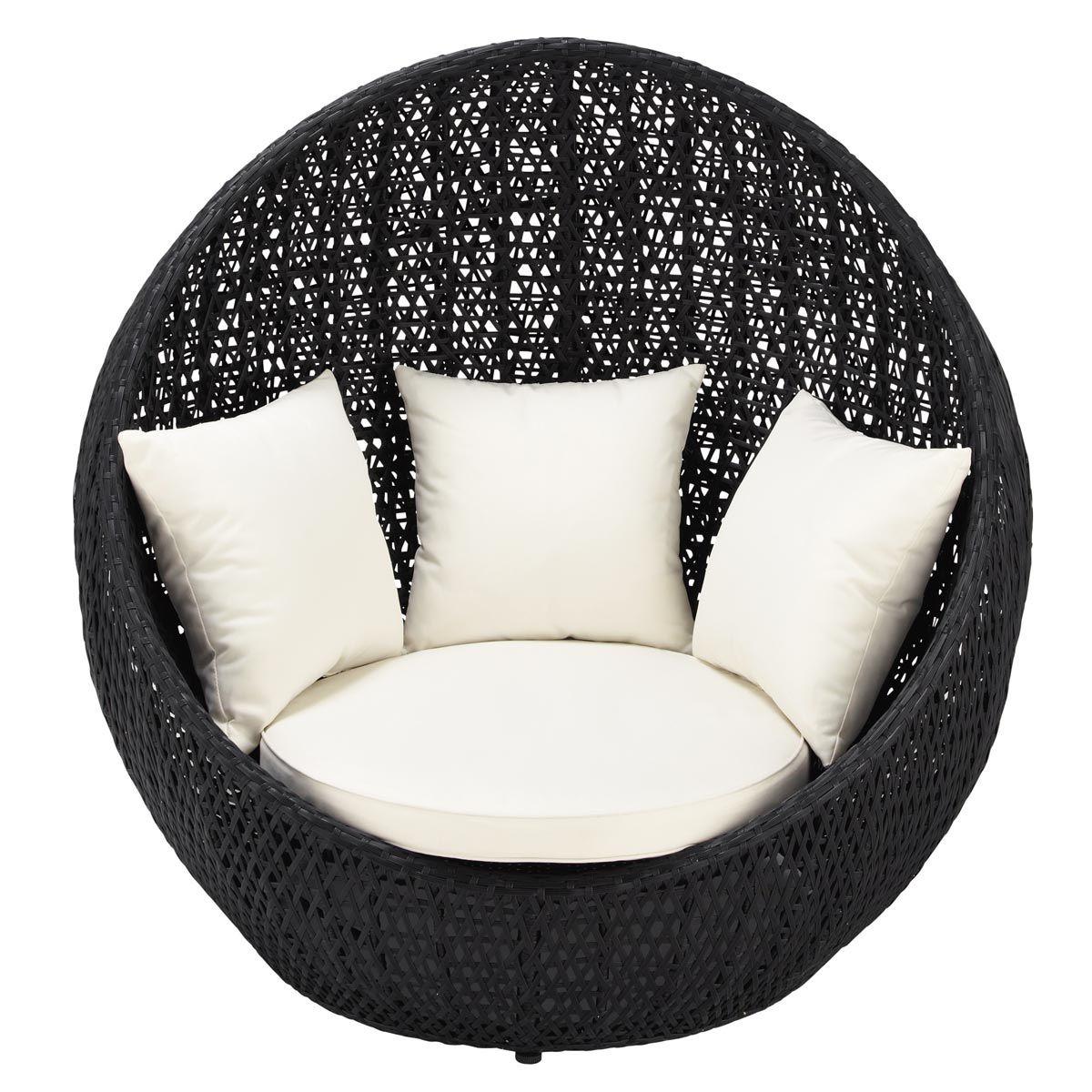 swing chair durban exercise gif poltrona nera da giardino in resina intrecciata
