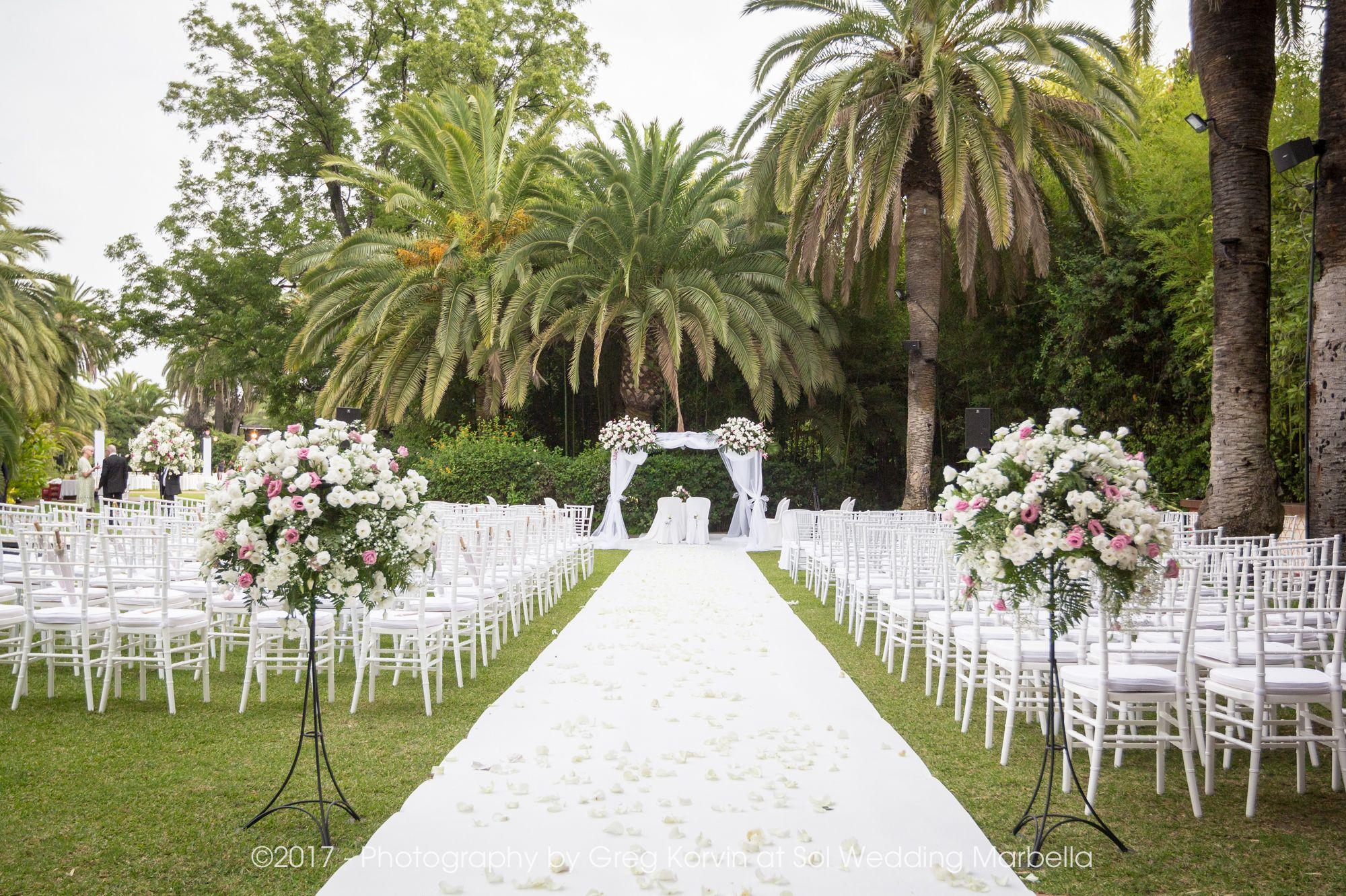 Ceremonia Boda Jewish Wedding Ceremony Finca La Concepcion Boda Ceremonias