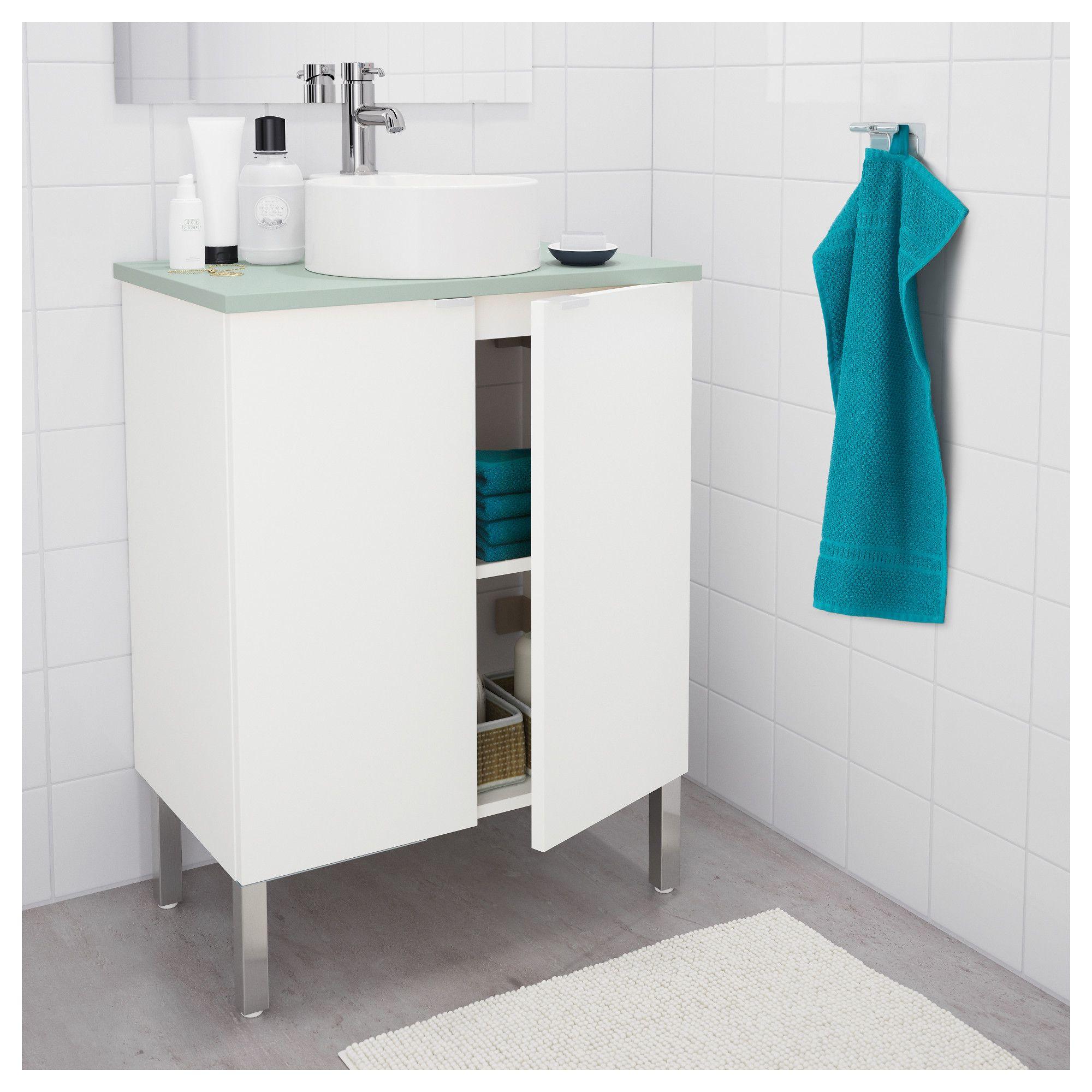 IKEA GUTVIKEN Countertop sink white in 2019 Sink