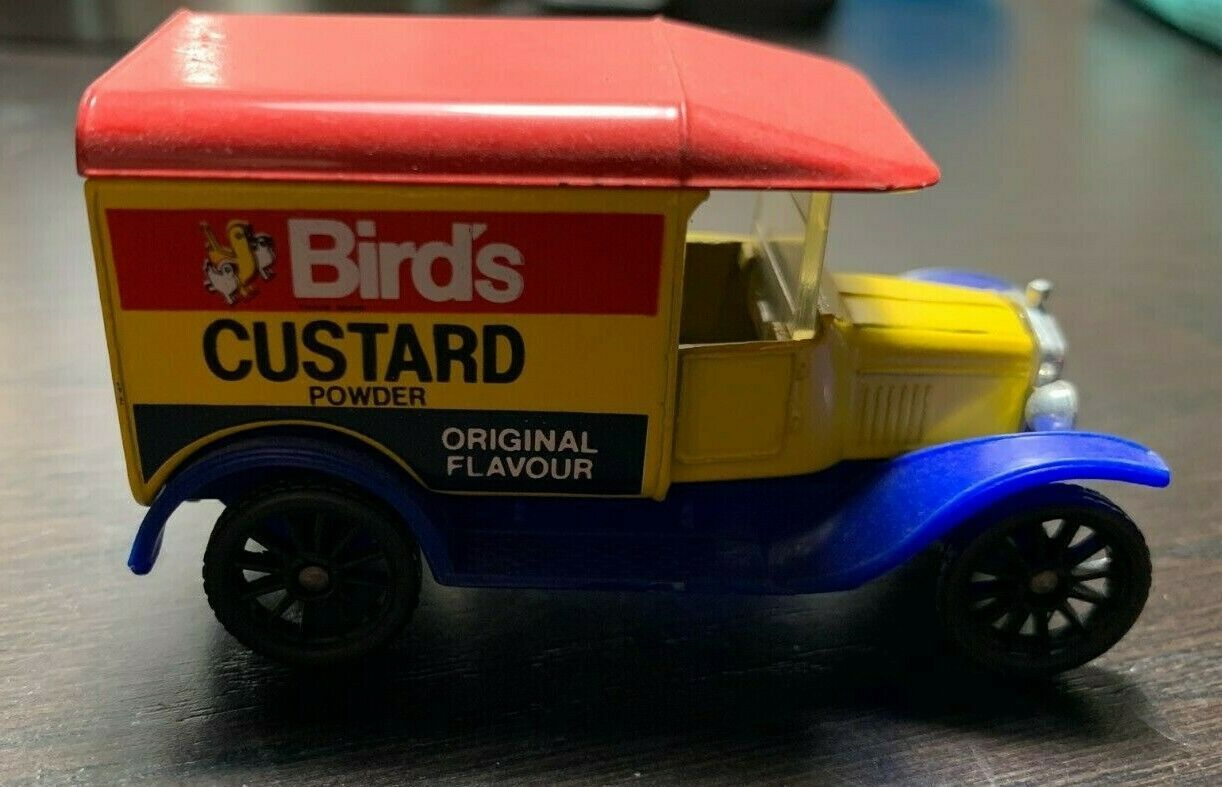 "Vintage Matchbox ""Birds Custard Powder"" 1921 Model ""T"
