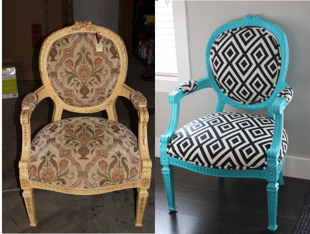 Finally!! Now I know how to reupholster that gross chair! @Tony ...