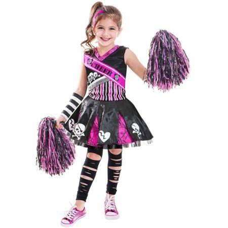 Girl's Hello Kitty Plush Bodysuit Halloween Dress-Up Costume Size 6-8
