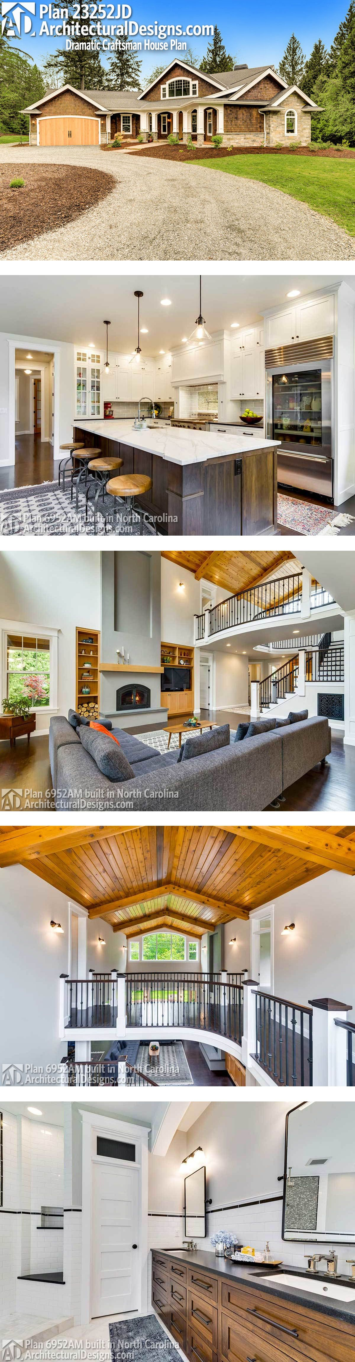 plan 23252jd dramatic craftsman house plan pinterest craftsman