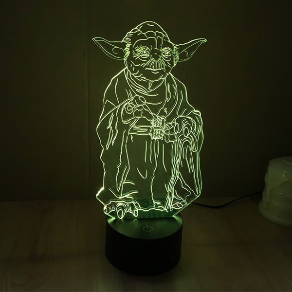 Just A Energy Efficient 2d Led Lamp But Looks Like A 3d