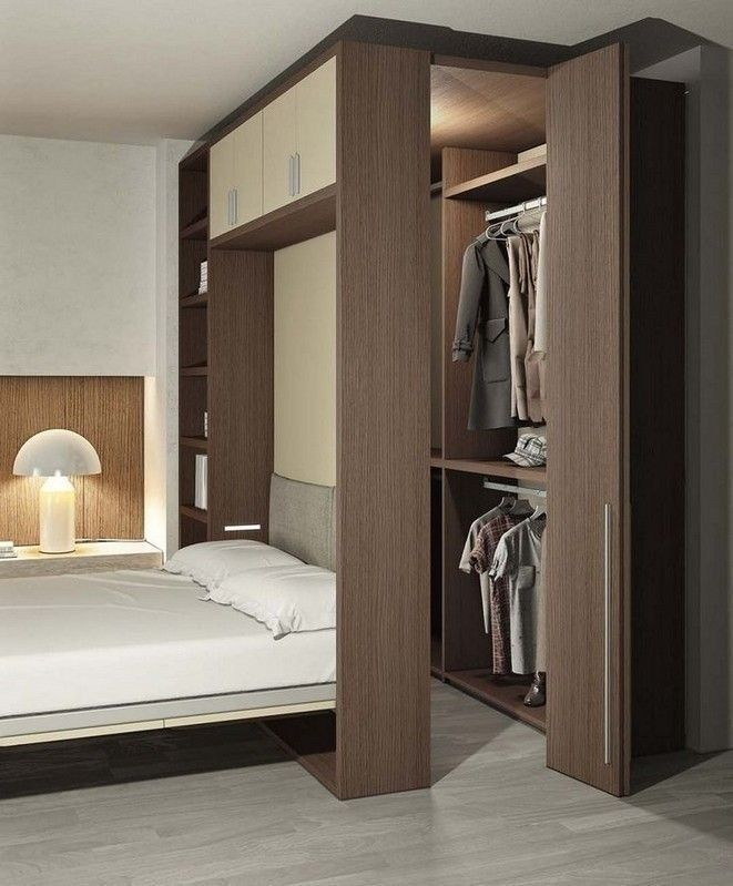 20 Chic Wardrobe Design Ideas For Your Small Bedroom Stylish