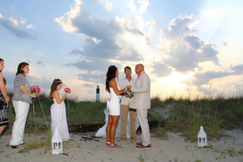 Tybee Island Savannah Ga Beach Wedding