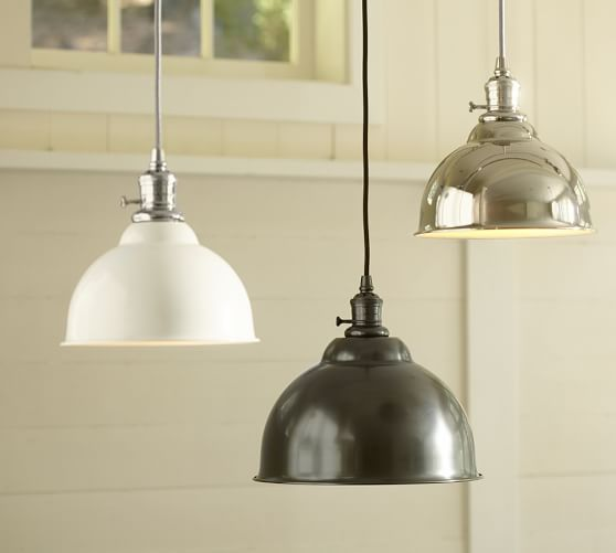 Pb Classic Cord Pendant Metal Bell Kitchen Pendants