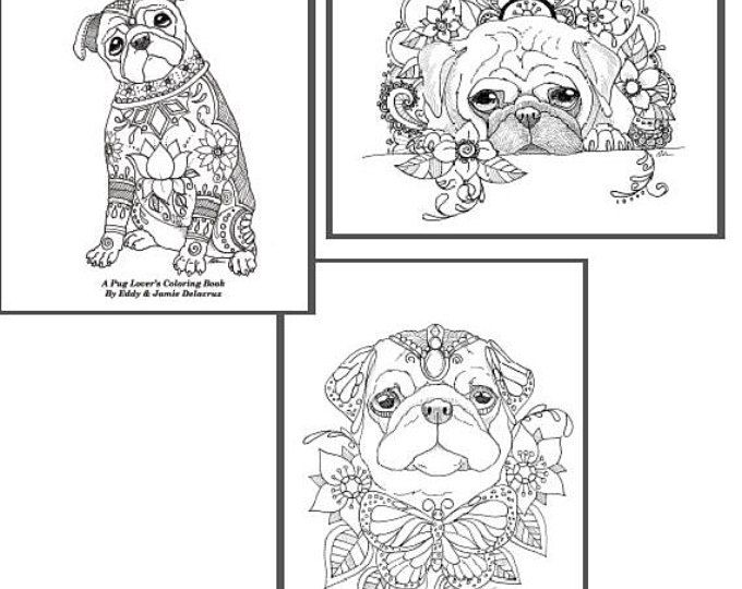 Browse Unique Items From Artbyeddy On Etsy A Global Marketplace Of Handmade Vintage And Creative Goods Coloring Books Dog Coloring Page Coloring Pages