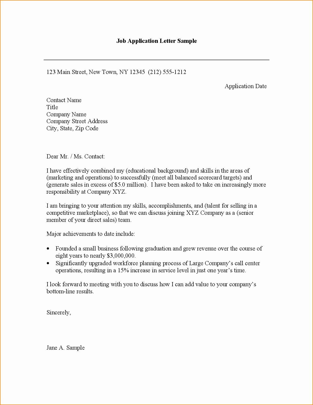 valid application letter for job in bank superintendent resume sample objective student internship template examples 2018
