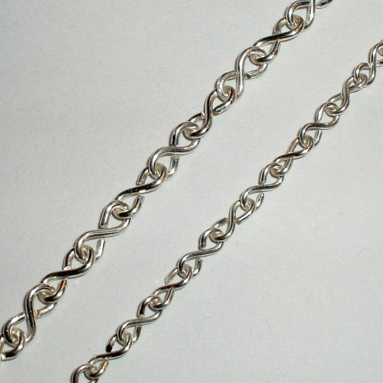 Free Jewelry Pattern: Figure Of 8 Chain
