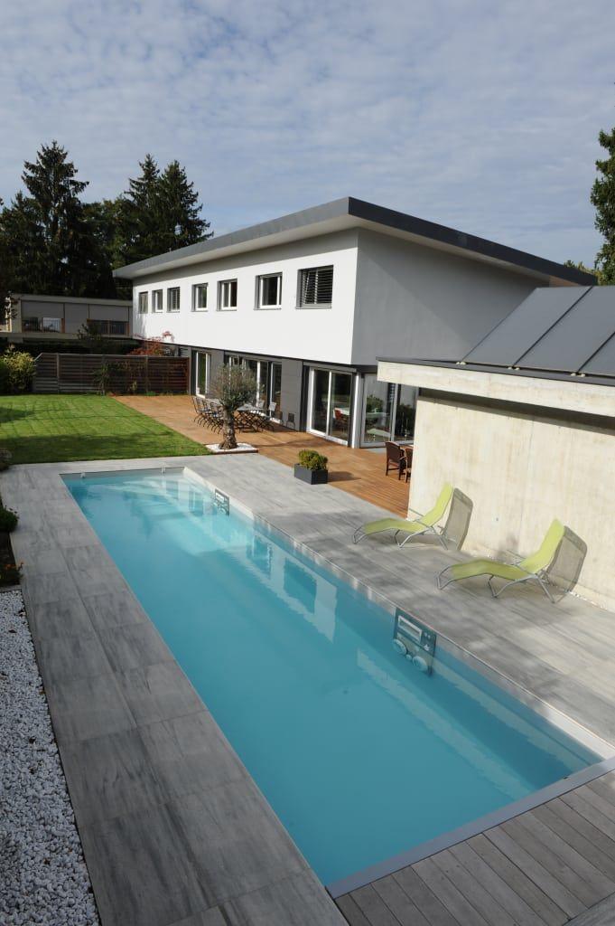 Piscines Contemporaines Piscine Moderne Par Piscinelle Moderne Diy Pool Swimming Pools Container Pool