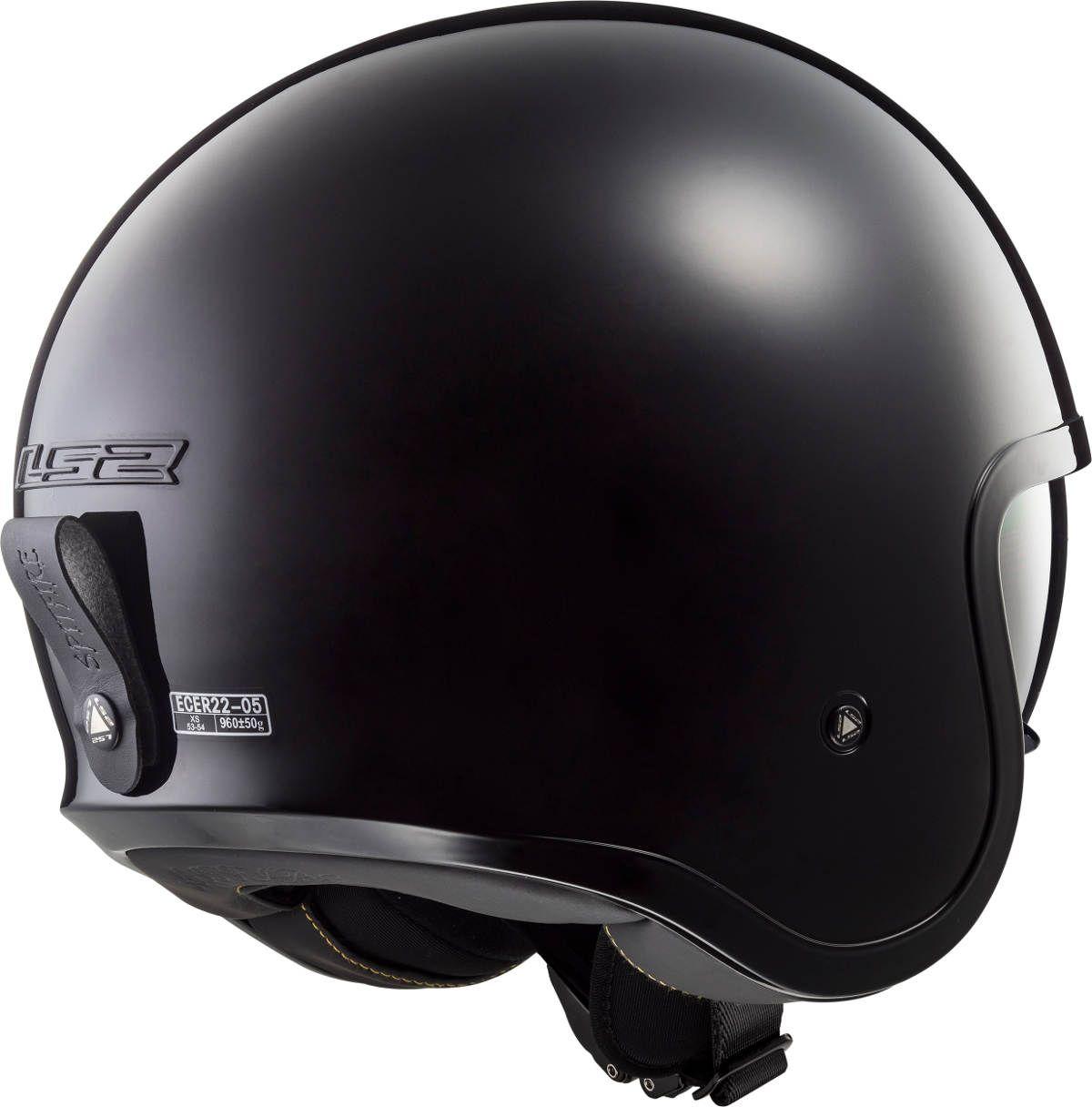 The New Ls2 Spitfire Open Face Motorcycle Helmet Riders Open
