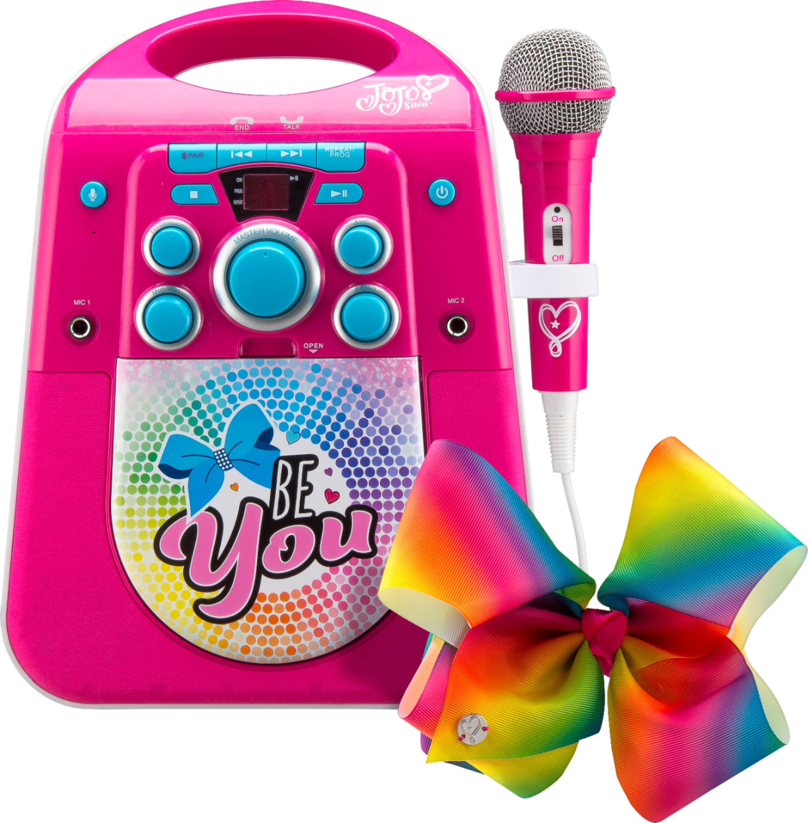 Shop eKids JoJo Siwa Portable Karaoke System Pink at Best Buy. Find low everyday prices and buy online for delivery or in-store pick-up. Price Match Guarantee. #karaokesystem Shop eKids JoJo Siwa Portable Karaoke System Pink at Best Buy. Find low everyday prices and buy online for delivery or in-store pick-up. Price Match Guarantee. #karaokesystem
