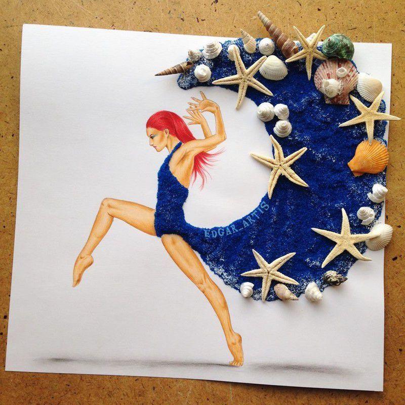 Живые и динамичные работы армянского дизайнера Edgar Artis - Ярмарка Мастеров - ручная работа, handmade