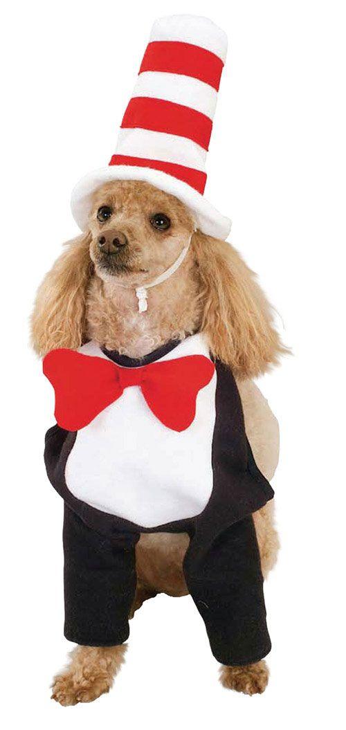 Dr Seuss Dog Costume Dog Halloween Costumes Pet Halloween