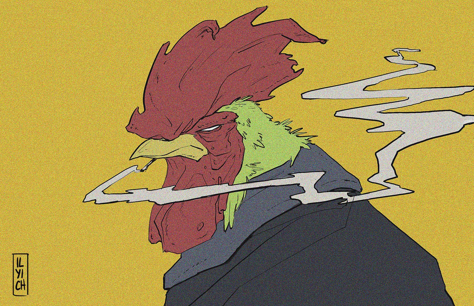 ArtStation - Mr. Chicken, Pablo Ilyich