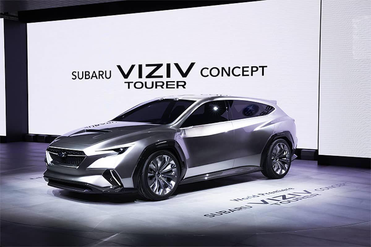 Subaru Uncovers The Viziv Tourer Concept In Geneva Will They Bring Back The Wrx Sti 5 Door Hatch In 2020 Subaru Subaru Crosstrek Subaru Levorg