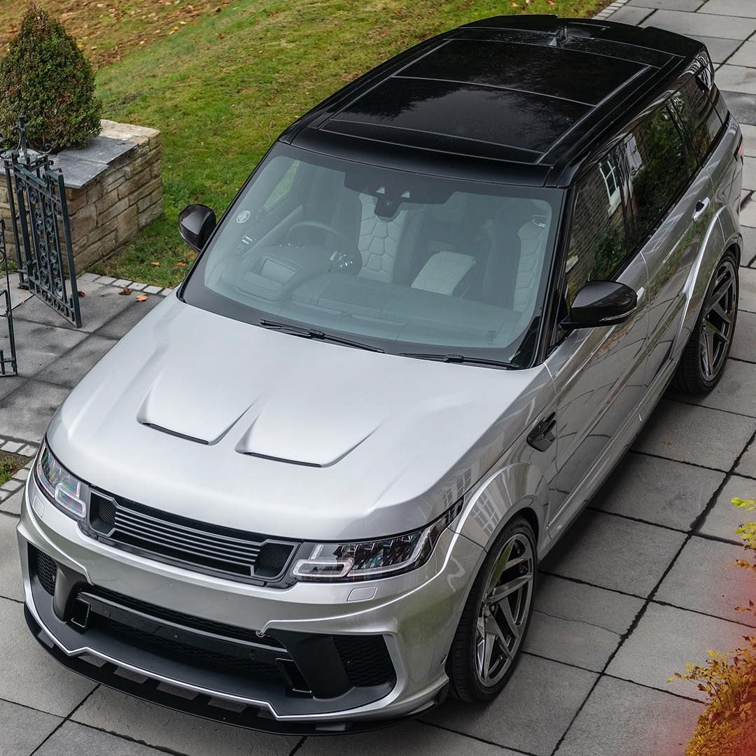 New Range Rover Sport SVR by KAHN® Prices from £129,999